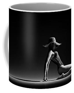 Woman In Black Costume Coffee Mug