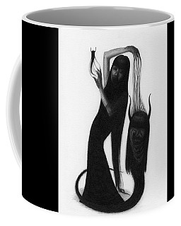 Woman With The Demon's Fingers - Artwork Coffee Mug