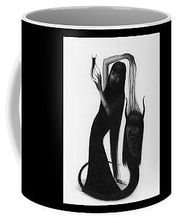Woman With The Demon's Fingers - Artwork Coffee Mug