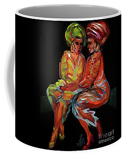 Women In Conversation Coffee Mug