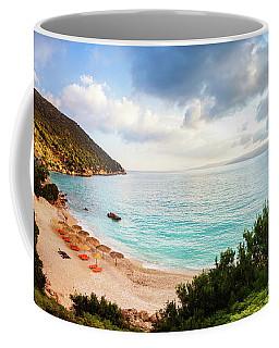 Wonderful Beach Without People At Morning Coffee Mug