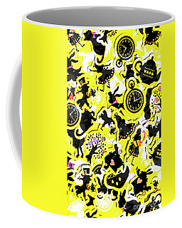 Wonderland Design Coffee Mug