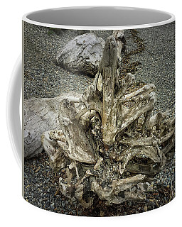 Coffee Mug featuring the photograph Wood Log In Nature No.36 by Juan Contreras