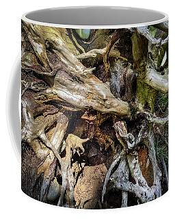 Coffee Mug featuring the photograph Wood Log In Nature No.8 by Juan Contreras