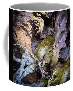 Coffee Mug featuring the photograph Wood Log In Nature No.9  by Juan Contreras