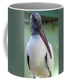 Coffee Mug featuring the photograph Wood Stork 40312 by Rick Veldman