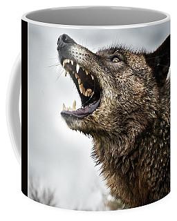 Woof Wolf Coffee Mug
