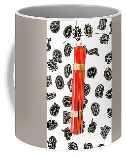 Words As A Weapon Coffee Mug