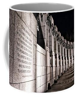 World War II Memorial Coffee Mug