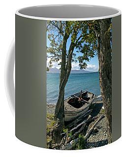 Wrecked Boat Patagonia Coffee Mug