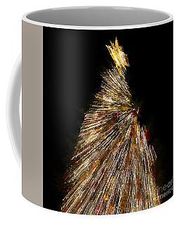 Xmas Tree Motion Art Coffee Mug