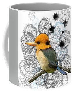 Y Is For Yellow Billed Kingfisher Coffee Mug