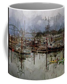 Yaquina Bay Kayaking Coffee Mug