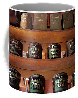 Coffee Mug featuring the photograph Ye Olde Time Pharmaceuticals by Lora J Wilson
