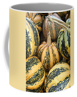 Yellow And Green Pumpkins Coffee Mug