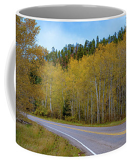 Yellow Aspens Coffee Mug