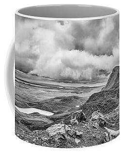 Yellow Autumn Panoramic Bw #i1 Coffee Mug