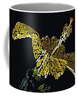 Yellow Bedazzled Hibiscus   Coffee Mug