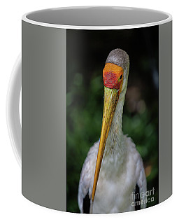 Yellow Billed Storks Coffee Mug