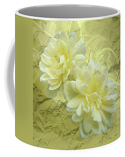 Yellow Foil Coffee Mug