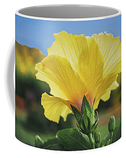 Yellow Hibiscus Coffee Mug