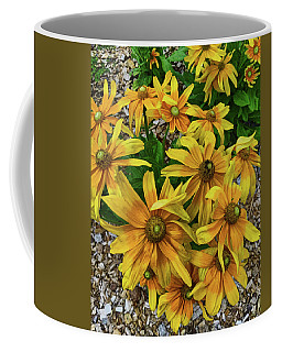 Yellow In Bloom Coffee Mug