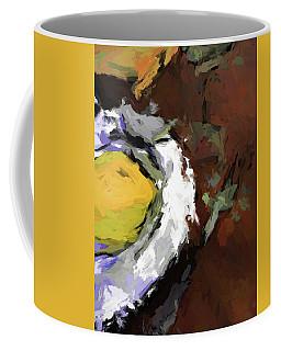 Yellow Lemon In The Bowl Coffee Mug