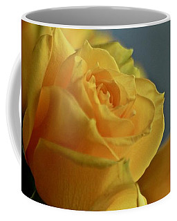 Coffee Mug featuring the photograph Yellow Roses by Ann E Robson