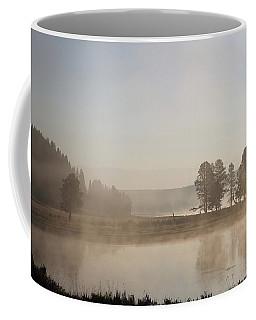 Yellowstone River Early Morning Coffee Mug