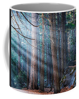 Coffee Mug featuring the photograph Yosemite Sunbeams II by Rand
