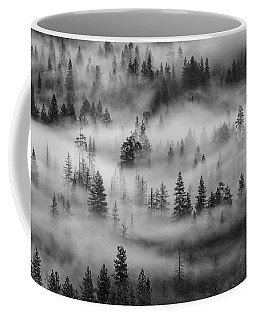 Coffee Mug featuring the photograph Yosemite Valley Fog by Rand