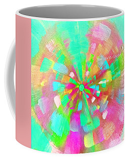 Coffee Mug featuring the mixed media  You Are Loved by Jessica Eli