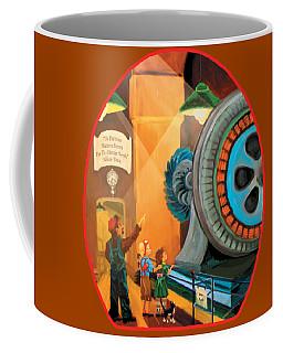 Young Fans Of Tesla Coffee Mug