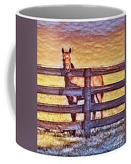 Young Kentucky Thoroughbred Coffee Mug