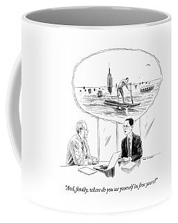 Yourself In Five Years Coffee Mug