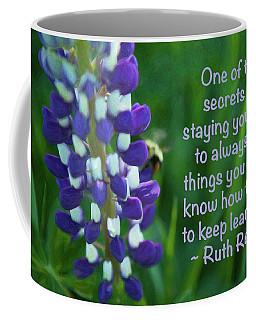 Youthful Energy - Motivational Flower Art By Omaste Witkowski Coffee Mug