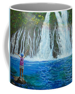 Coffee Mug featuring the painting Youthful Spirit by Amelie Simmons
