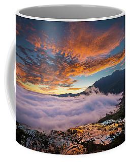 Yuanyang Sunrise Coffee Mug