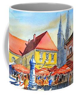 Zagreb Near Dolce Market Coffee Mug