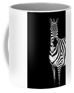 Zebra Drama Coffee Mug