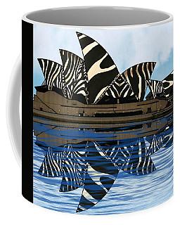 Zebra Opera House 4 Coffee Mug