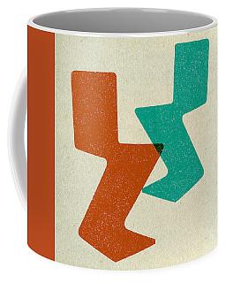 Zig Zag Chairs II Coffee Mug