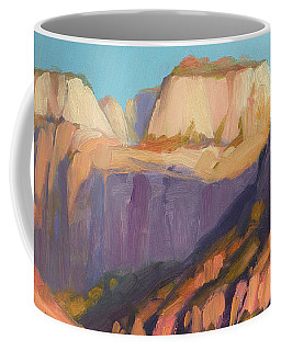 Zion's West Canyon Coffee Mug