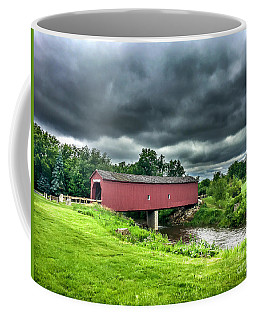 Zumbrota Bridge Thunder Coffee Mug