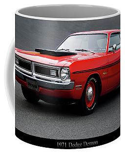 1971 1972 Dodge Demon Logo Coffee Mug 11oz 15 oz Ceramic NEW