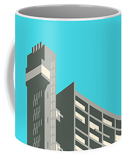 Brutalist Architecture Coffee Mugs
