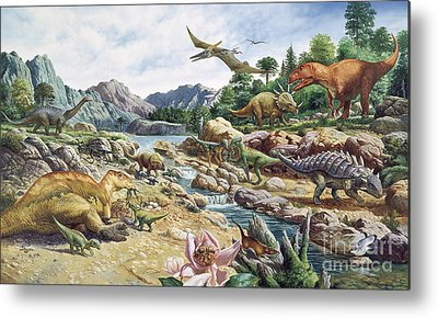 Saltasaurus Metal Prints