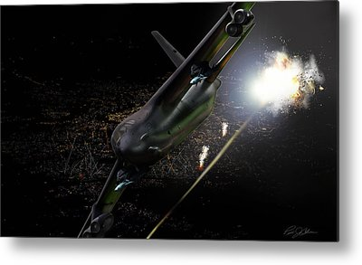 Artillery Digital Art Metal Prints