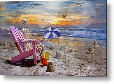 Sandcastle Metal Prints