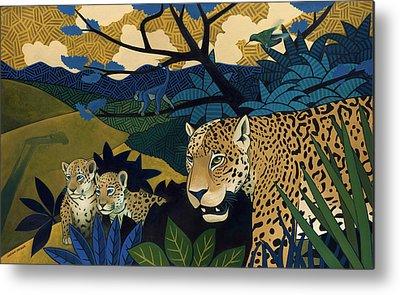 Jaguar Metal Prints